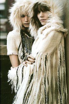 chanel. inspiring night time wear for Burning Man