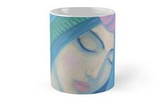 """""""The Pearl, Mermaid Princess, underwater fantasy art"""" Mugs by clipsocallipso 