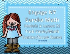 These math centers follow the lessons from Engage NY. I wanted a hands-on approach to go with my lessons. Please download preview to see what is included! I will be making centers and Exit tickets for all the modules so check back often!**6-8-16I've added a QR code so that students can check their own work.I've added Task Card-Sized ~~ Title, Directions, and Answer Cards.I've added a white background set to save on ink!Math CentersEarly FinishersSmall Group and Individual…