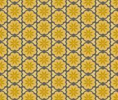 dutch_flowers_summer fabric by holli_zollinger on Spoonflower - custom fabric
