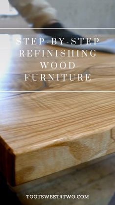 Refinish Wood Furniture, Restoring Old Furniture, Furniture Repair, Reclaimed Wood Furniture, Upcycled Furniture, Furniture Makeover, Diy Furniture, Furniture Design, Carpentry Projects