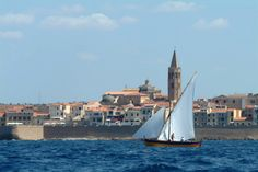 Vela Latina, Porto di Alghero, Sardegna
