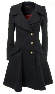 Black Princess Coat