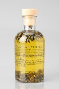 Lola's Apothecary Lavender Camomile Bath Oil. NEED THIS