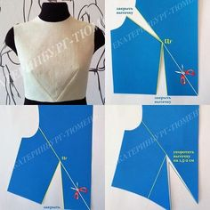 Sensational Tips Sewing Pattern Ideas. Brilliantly Tips Sewing Pattern Ideas. Sewing Hacks, Sewing Tutorials, Sewing Projects, Techniques Couture, Sewing Techniques, Dress Sewing Patterns, Clothing Patterns, Sewing Blouses, Creation Couture