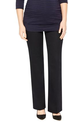Motherhood Maternity Secret Fit Belly Stretch Twill Boot Maternity Pants