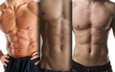 Crooked, flat, close together, far apart: Here are the reasons why abs can look so different