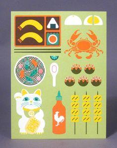 アジア料理のイラストitadakimasu1アジア料理のイラストいただきます
