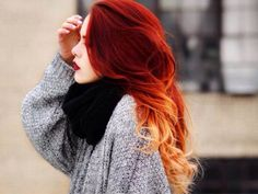 Red passion hombre hair