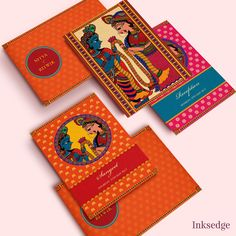 Everything has new form in weddings nowadays then why put wedding welcomes on the secondary lounge!Here we provide stunning indian wedding invitation ideas. Wood Wedding Invitations, Wedding Invitation Design, Invitation Ideas, Invites, Tree House Drawing, Wedding Card Design Indian, Wedding Gift Baskets, Hindu Wedding Cards, Madhubani Painting