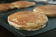 Healthy Whole Wheat Yogurt Pancakes
