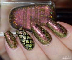FUN Lacquer Christmas 2014 collection - Poinsettia (H) swatch