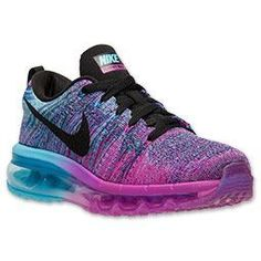 Love at first sight.....Women Nike Flyknit Air Max Running Shoes. These colors are everything.