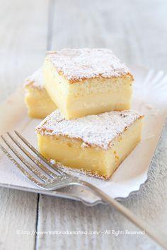 Torta magica alla crema