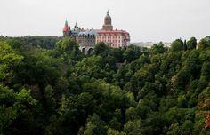 The Ksiaz Castle in Poland seen in 2010