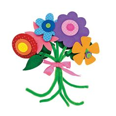 NAC, are these double sided?Self-Adhesive Flower Bouquet Craft Kit - OrientalTrading.com