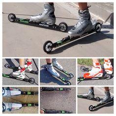 ESQUÍ SOBRE RUEDAS: Test roller ski Bonés Raptor