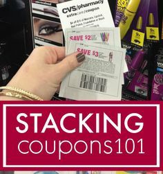 Stacking Coupons 101! Easy Couponing Tips for Saving Money on Household Items, Beauty Products, and Groceries!