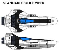 Is a modificated Viper Mark I, adapted for speed and maneuverability, and is armed with kinetic weapons, without the missiles. In the city most populated of the Twelve Colonies they have four or fi...