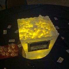 hollywood theme centerpieces | Hollywood themed party centerpieces.