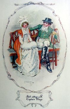 Northanger Abbey illustration by C.E. Brock