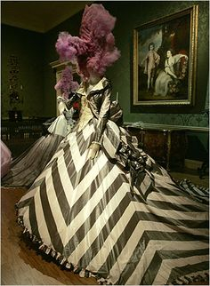 A dress by John Galliano from his 1994 spring collection.