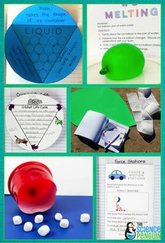 Science in a Snap Units for primary students-- fun units that encourage writing and exploration!  See all topics.