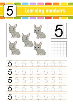 trace and write. Homeschool Kindergarten, Kindergarten Writing, Preschool Learning, Learning Numbers, Writing Numbers, Activity Sheets For Kids, Kids Math Worksheets, Education Jobs, Kids Learning Activities