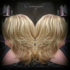Blonde with highlights