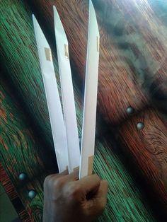 Как сделать когти росомахи из бумаги. Когти оригами: готовимся на ...   314x236