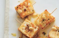 Award-winning cookbook author and culinary instructor Marie Simmons's new recipe collection is an homage to the delicious vegetarian cuisine found in every Tapas, Halloumi, Looks Yummy, Serving Platters, Recipe Collection, New Recipes, Favorite Recipes, Good Food, Cheese