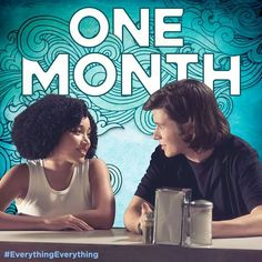 #everythingeverything Maddy and olly ❤ Nick Robinson and Amandla