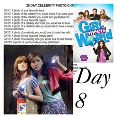 """Day 8 - Zendaya, Bella Thorne, Rowan Blanchard, Sabrina Carpenter"" by kirra-1994 ❤ liked on Polyvore featuring arte"