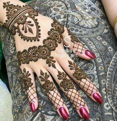 Henna Design By Fatima Basic Mehndi Designs, Latest Bridal Mehndi Designs, Mehndi Designs For Beginners, Mehndi Designs For Fingers, Beautiful Henna Designs, Latest Mehndi Designs, Mehndi Designs For Hands, Henna Tattoo Designs, Simple Henna Tattoo