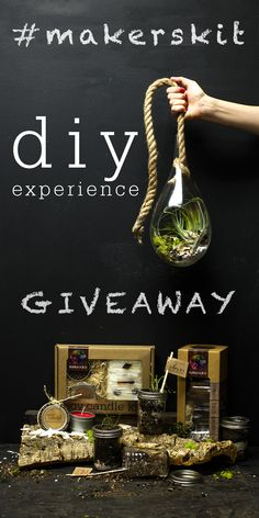 Win a #DIY Experience Gift Set worth $150 from #MakersKit and other great prizes! No Purchase Necessary. See the giveaway page for the rules. #contest #sweepstakes Enter the #giveaway here: hubs.ly/y0vmhH0