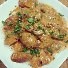 Jarrah Jungle: Recipe: Slow Cooker Sausage Stroganoff