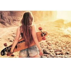 "1,087 Likes, 10 Comments - Longboard For Fun (@longboardforfun) on Instagram: ""@surfavel #skate #longboard #girl"""