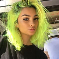 55 stunning neon hair color ideas for women 44 Hair Dye Colors, Cool Hair Color, Bright Hair Colors, Edgy Hair Colors, Exotic Hair Color, Weave Hair Color, Scene Hair Colors, Unnatural Hair Color, Hair Inspo
