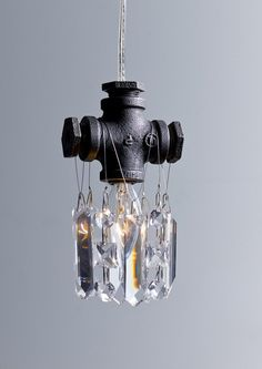 McHale Single Bulb Pendant Chandelier