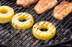 Pork Chop Recipes Anyone Can Make - Skinny Pineapple Teriyaki Pork Chops Teriyaki Pork Chops, Bbq Pork Ribs, Grilled Pork Chops, Grilled Meat, Healthy Grilling, Grilling Recipes, Cooking Recipes, Grilling Tips, Cooking Tips