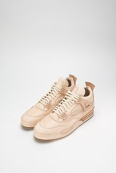 best website bfa1c f9eb7 Natural Tan kicks, reminiscent of the Air Jordan IV from Hender Scheme,  Japan.