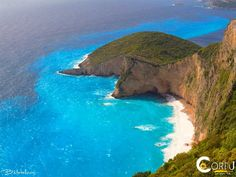 Chomoi beach near the village of Liapades and Palaiokastritsa, is one of the few hidden beac. Corfu Island, Mykonos Island, Corfu Beaches, Corfu Greece, Beaches In The World, Greek Islands, Outdoor Travel, Wonderful Places, Beautiful Beaches