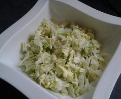 Eisbergsalat fix und fertig mit Oma´s Salatsauce