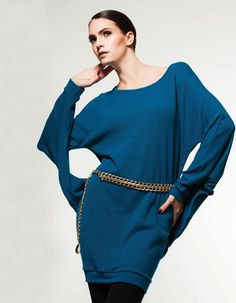 This avant-garde is a winner! Available in 5 hot colours for Fall2014 Fashion, Bell Sleeves, Bell Sleeve Top, Fall 14, Tunic, Colours, Hot, Collection, Women