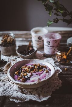 Breakfast Snacks, Breakfast Ideas, Acai Bowl, Cereal, Food And Drink, Baking, Smoothie, Food And Drinks, Food Food