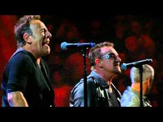 U2 & Bruce Springsteen - I Still Haven't Found What I'm Looking For (live at Madison Square Garden)