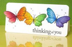 pinterest rainbow   stunning rainbow butterflies # Pin++ for Pinterest #   Thinking of U