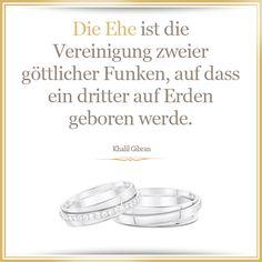 Ein sehr schöner Hochzeitsspruch - besonders für schwangere Brautpaare  #Liebe…