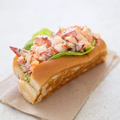 We love our city, the people, the marathon, and most of all—our community. Tell us why you #LoveBoston... New England Lobster Roll.
