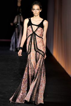 Roberto Cavalli Spring 2012 Ready-to-Wear Fashion Show - Karmen Pedaru